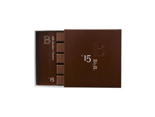 B BY B N°15 MILK CHOCOLATE / HAZELNUT