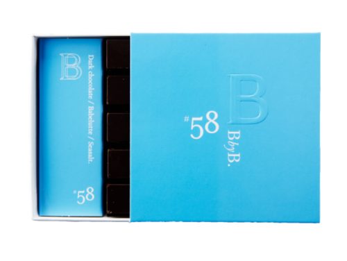 B BY B N°58 DARK CHOCOLATE / BABELUTTE / SEASALT