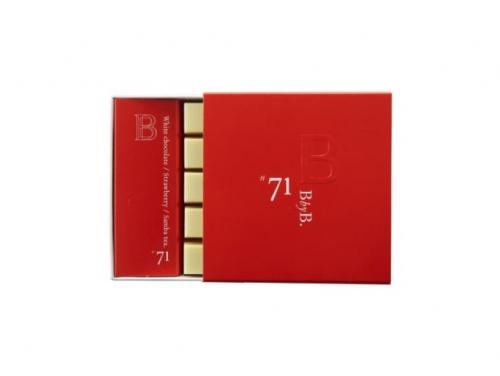 B BY B N°71 WHITE CHOCOLATE / STRAWBERRY / SAMBA TEA
